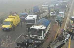 BOUIRA - Cinq blessés dans un carambolage