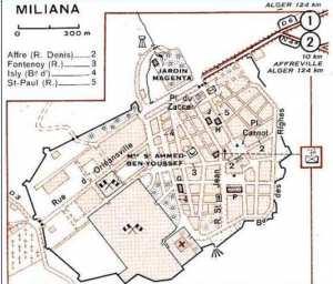 مخطط مدينة مليانة