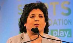 حسيبة بولمرقة رئيسة الوفد الجزائري في أولمبياد طوكيو 2020