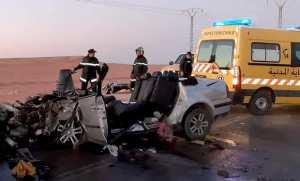 Guerrara (Ghardaïa) - Six morts et un blessé dans un accident de la route
