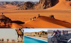 Triathlon extrême de Taghit: une centaine d'athlètes pour la 2e édition
