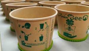 Planète - De jeunes Français créent un gobelet biodégradable qui se transforme en fleurs
