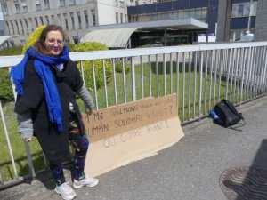 Planète (France) - Une jeune femme en grève de la faim pour dénoncer l'inaction climatique de l'État