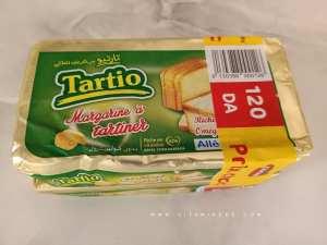 Votre avis sur la margarine à tartiner Tartio رأيك في تارتيو مارغرين للطلي