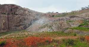 El Hammamet (Alger) - Forêt de Baïnem: Une décharge publique envahit le massif forestier