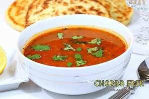 Chorba frik - soupe algérienne au blé