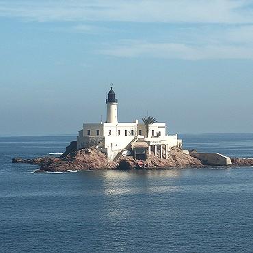 Le phare de l'îlot d'Arzew