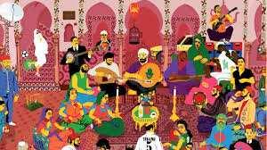El Moustach, super-héros du pop art made in Algérie