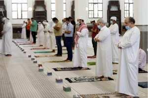 #هاام : التدابير الصحية الوقائية الخاصة بالمصلين :