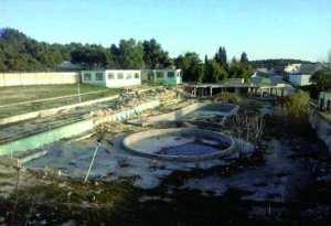 Aïn Beida (Oum El Bouaghi) - La piscine communale à l'abandon