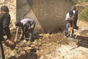 M'CHEDALLAH (BOUIRA) - Volontariat pour réhabiliter le village Iwaqouren