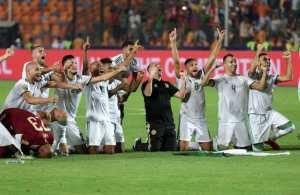 ملخص مباراة الجزائر زيمبابوي و مواصلة تفوق الخضر