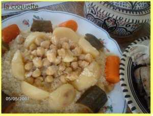 Couscous aux légumes : el m'hawar de Constantine