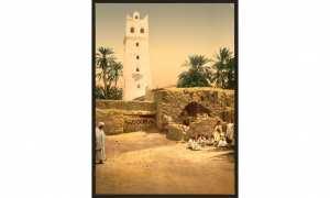 Mosquée dans la vieille ville. Biskra