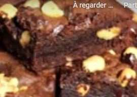 Brownies Chocolat café