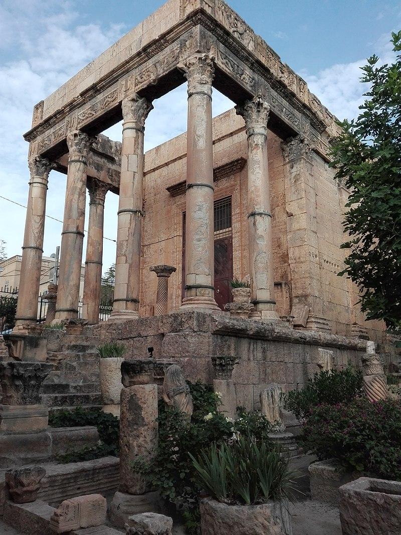 Temple de Minerve – Thevest (Tébessa)