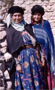 Costumes Algériens- Costumes de l'Aurès