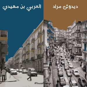 Des illustrations s'amusent des différences d'Alger et Oran