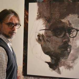 Peintre contemporain italien Michele Petrelli (Michele Petrelli)