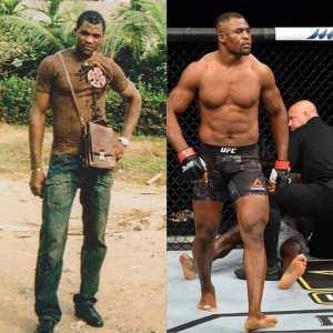 Francis Ngannou d'arts martiaux mixtes