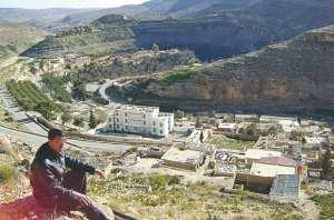Taberdga (KHENCHELA) : un village touristique à l'abandon