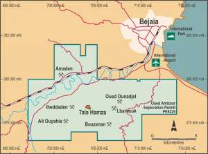 Béjaïa - Mine de zinc de Tala Hamza: Inquiétudes et opacité autour d'un projet controversé