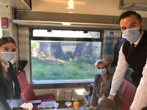 Planète (Afrique/Algérie) - L'ambassadeur des Pays-Bas prend le train Alger - Oran