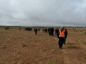 Bouihi (Tlemcen) - Fête de la victoire: La randonnée thématique sur le tracé de la ligne Morice, une réussite