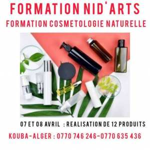 Formation Cosmetologie Naturelle