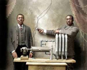 Inventeur afro-américain, qui a breveté le chauffage par friction.