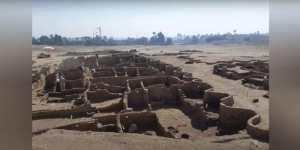 Égypte : « la plus grande ville antique » découverte près de Louxor