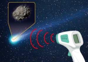Des astronomes découvrent une comète couverte de talc !