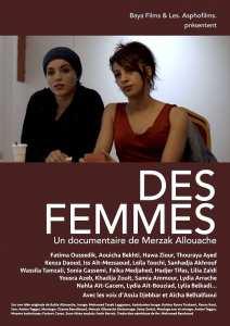 """Projection du documentaire """"Des Femmes"""" de Merzak Allouache"""