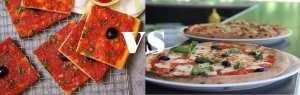 Le match : pizza carrée algérienne ou pizza napolitaine ?