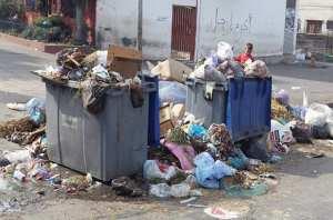 El-Milia (Jijel) - CONSÉQUENCE DE LA PANNE DES CAMIONS DE RAMASSAGE: Accumulation des déchets ménagers