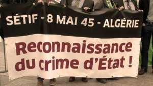 L'Algérie célèbre sa première « journée de la mémoire » et réclame la « repentance » française Des milliers de personnes ont participé samedi à une marche commémorative à Sétif,
