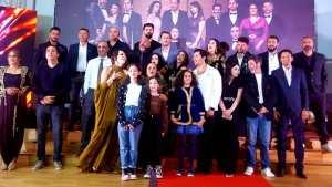 L'équipe du film Yemma II en fête
