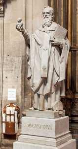 La statue de Saint Augustin gardée sous terre sera-t-elle exposée ?