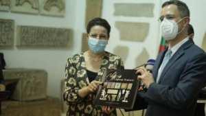 Coopération algéro-américaine Projet de restauration d'une mosaïque romaine à Alger