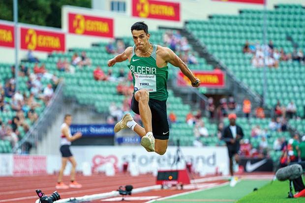 """Algérie (Athlétisme) - PREMIER ATHLÈTE QUALIFIÉ EN FINALE DES JEUX OLYMPIQUES DE TOKYO. Triki: """"Objectif : offrir une médaille à l'Algérie"""""""