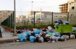 Taher (Jijel) - La ville croule sous les ordures