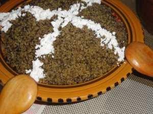 Couscous à la lavande(Kesksou bel helhal)