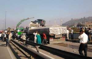 Amoucha (Sétif) - Accident majeur à huit véhicules sur la RN09