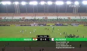 Algérie (Football) - Eliminatoires/ Mondial 2022: Niger 0 Algérie 4: Les Verts insatiables