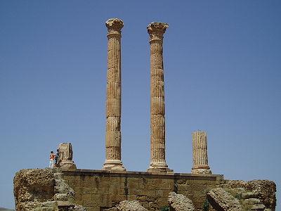 La ville de Timgad