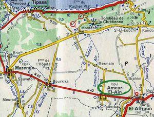La commune d'Ahmer El Ain