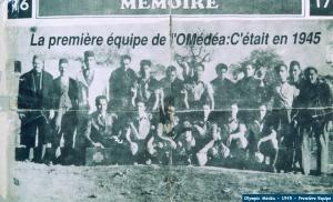 1er équipe de l'OLYMPIQUE de MEDEA 1945