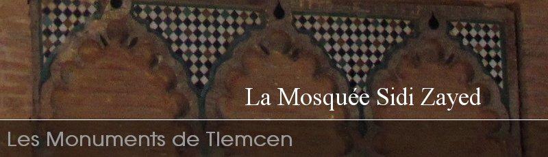 Tlemcen - Mosquée Sidi Zaid Tlemcen