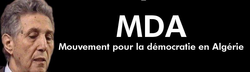Algérie - MDA : Mouvement pour la démocratie en Algérie