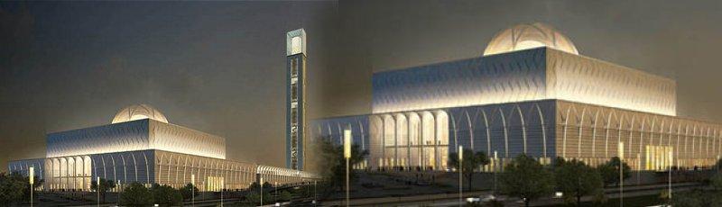 Alger - La grande mosquée d'Alger